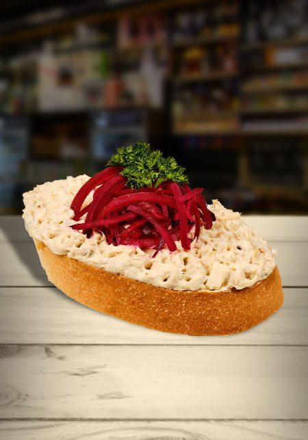 Makrelový chlebíček