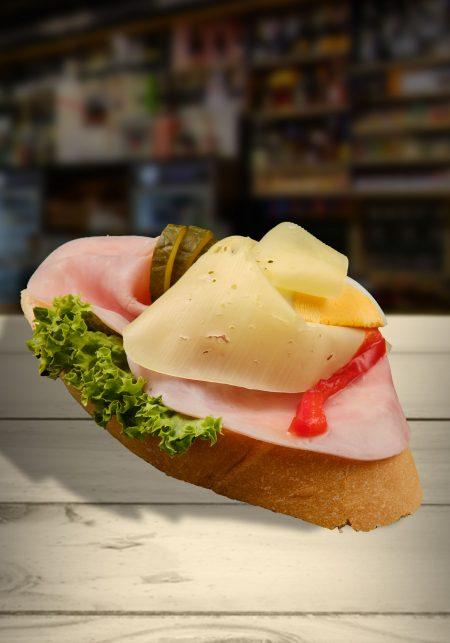 Šunka-syr chlebíček