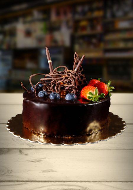 Čokoládová tortička